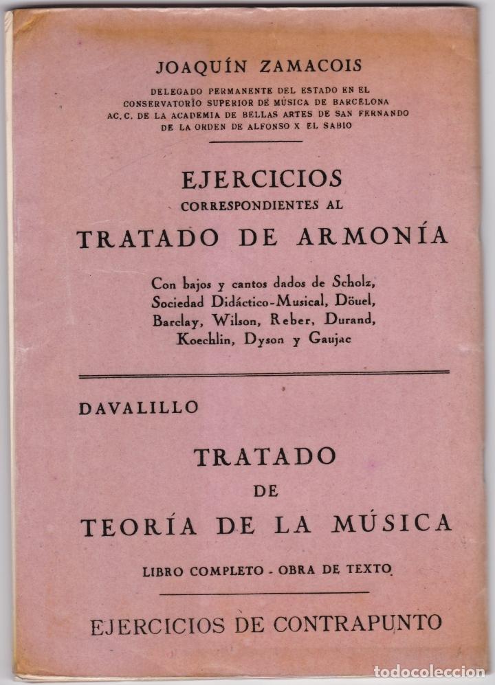 Partituras musicales: LAZ - METODO GRADUADO DE SOLFEO - LIBRO I - EDITORIAL BOILEAU 1968 - Foto 4 - 174140778
