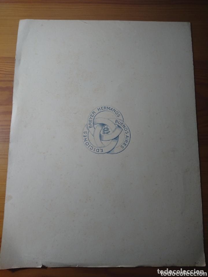 Partituras musicales: Triste, para Piano y Canto, letra de Eduardo Gutiérrez y arreglo de Carlos Rohl, antigua partitura - Foto 3 - 174264779