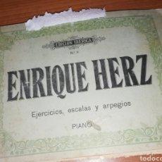 Partituras musicales: ENRIQUE HERZ. Lote 174383948