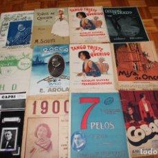 Partituras musicales: LOTE DE 153 PARTITURAS DE TANGO. Lote 90482404