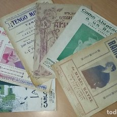 Partituras musicales: TANGO. EXITOS DE CARLOS GARDEL. AÑOS 30. 6 PARTITURAS ORIGINALES ANTIGUAS. Lote 174535012