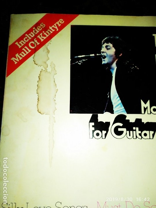 Partituras musicales: THE BEATLES THE BEST OF MC CARTNEY FOR GUITAR MULL OF KINTYRE - Foto 2 - 175208125