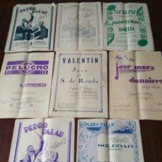 Partituras musicales: LOTE DE PARTITURAS ANTIGUAS. Lote 175303547