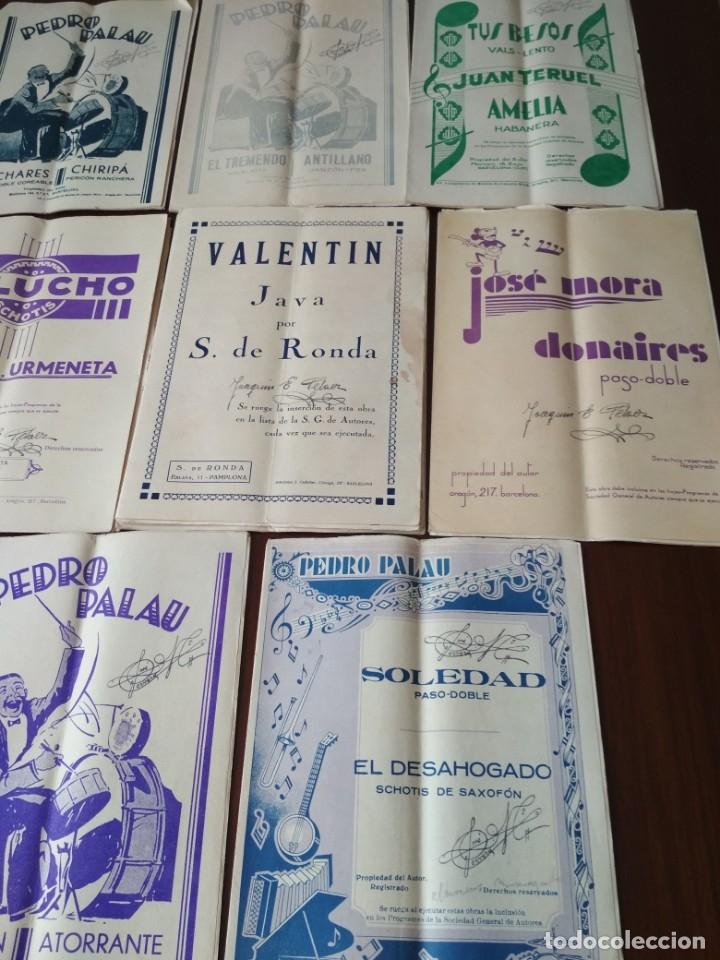 Partituras musicales: LOTE DE PARTITURAS ANTIGUAS - Foto 2 - 175303547