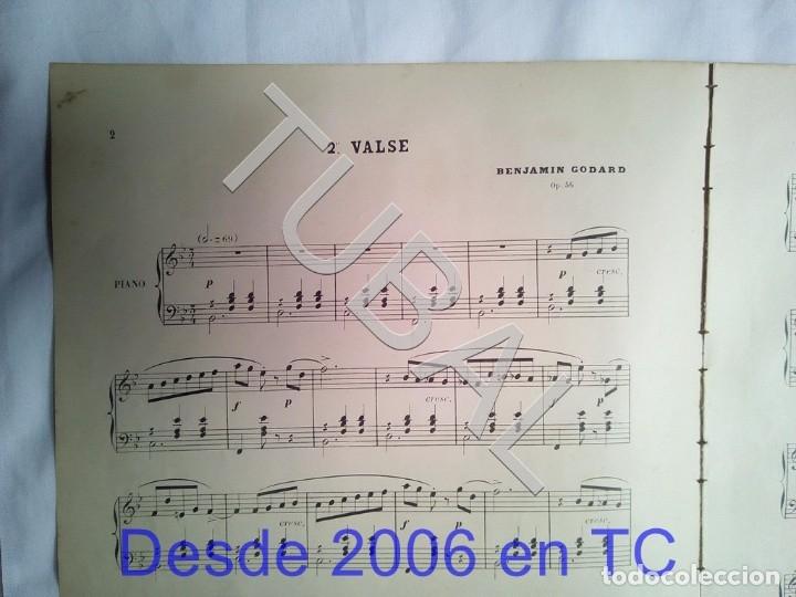 Partituras musicales: TUBAL BENJAMIN GODARD 2 PARTITURAS PARA PIANO MUSICAL ANTIGUA ENVIO 2,35 € ORDINARIO PARA 2019 G5 - Foto 7 - 175764612