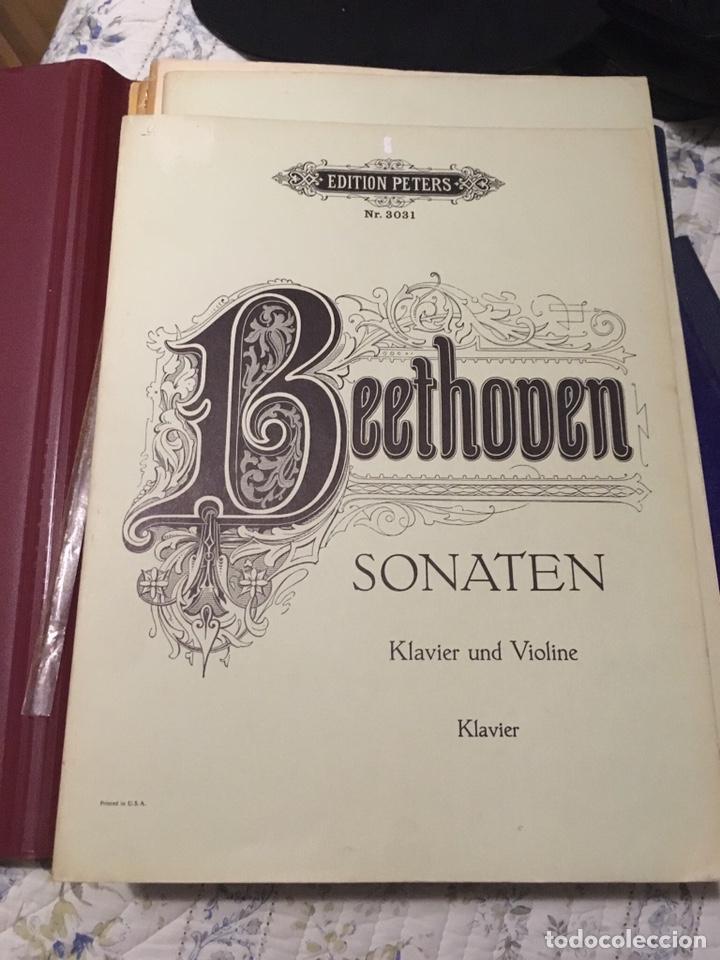 Partituras musicales: Beethoven sonaten klavier und violine - Foto 5 - 171704129