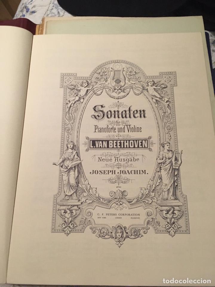 Partituras musicales: Beethoven sonaten klavier und violine - Foto 6 - 171704129