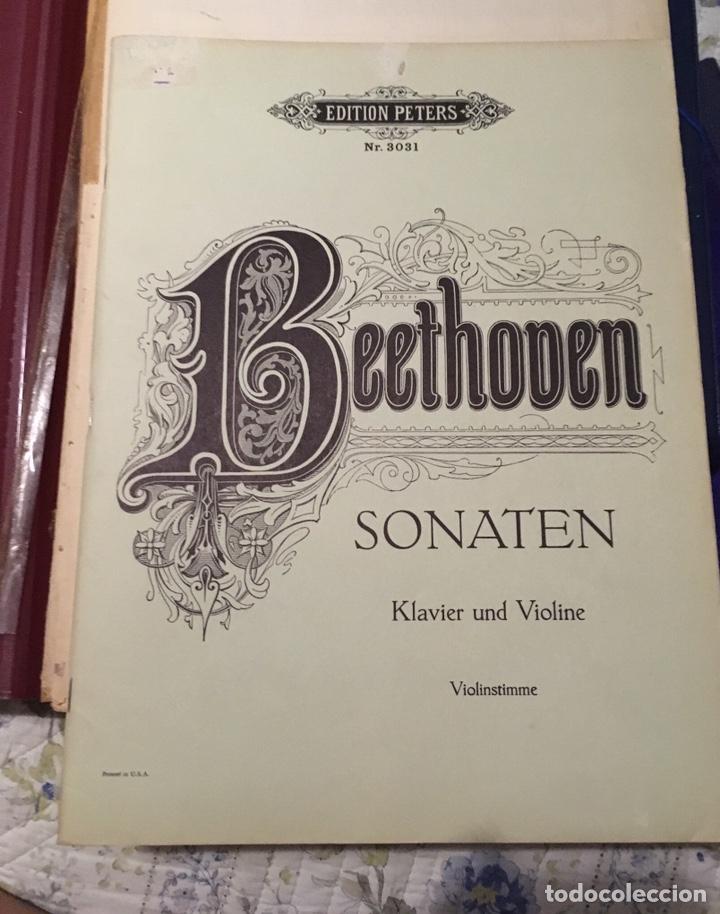 Partituras musicales: Beethoven sonaten klavier und violine - Foto 7 - 171704129