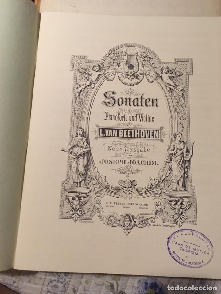 Partituras musicales: Beethoven sonaten klavier und violine - Foto 8 - 171704129