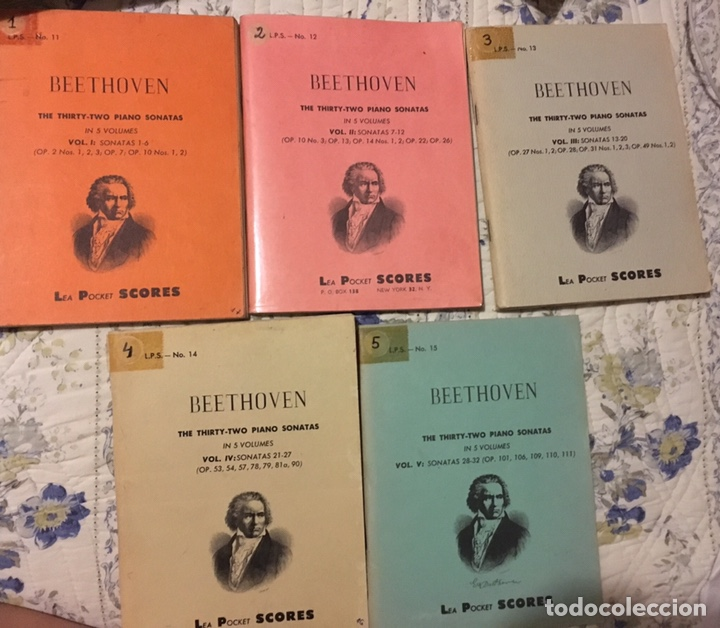 Partituras musicales: Beethoven the trirthy-two pianos Sonatas - Foto 5 - 171705843