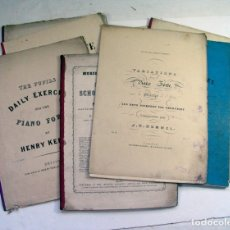 Partituras musicales: 12 PARTITURAS PARA PIANO FORTE. SIGLO XIX. MOZART, BEETHOVEN, HERZ, CZERNY, HUMMEL, ETC... Lote 175958377