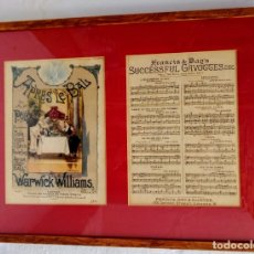 Partituras musicales: APRES LE BALS . Lote 176086160