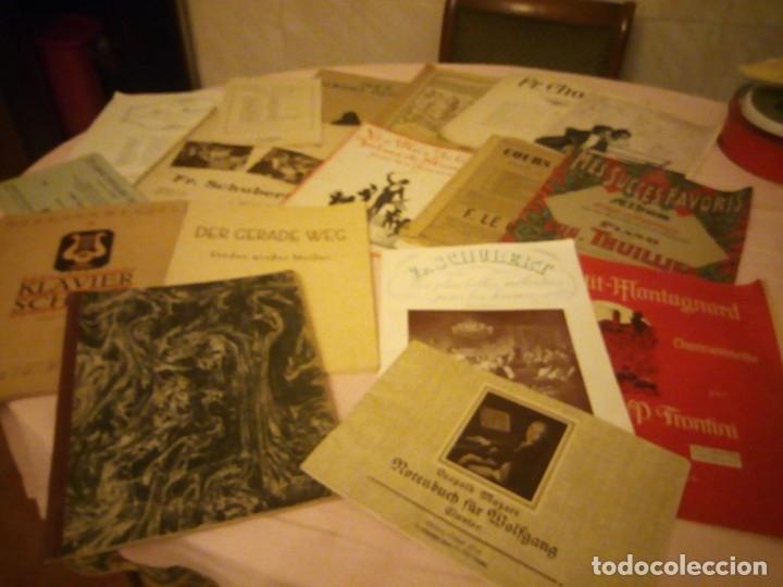 LOTE DE LIBROS DE MÚSICA PARA PIANO. DESDE 1920 (Música - Partituras Musicales Antiguas)