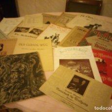 Partituras musicales: LOTE DE LIBROS DE MÚSICA PARA PIANO. DESDE 1920. Lote 176862055