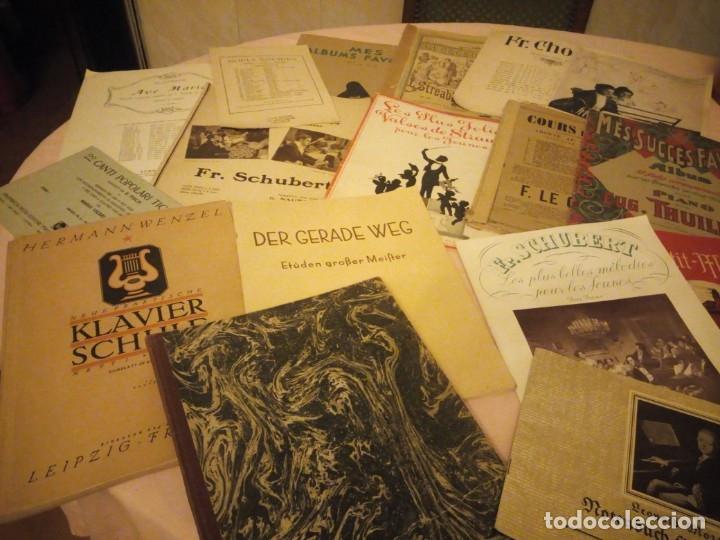 Partituras musicales: lote DE LIBROS DE MÚSICA PARA PIANO. DESDE 1920 - Foto 2 - 176862055