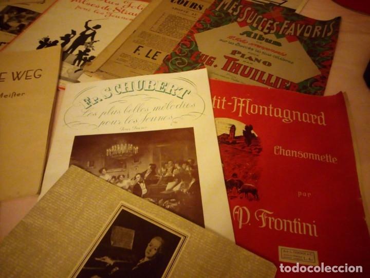 Partituras musicales: lote DE LIBROS DE MÚSICA PARA PIANO. DESDE 1920 - Foto 3 - 176862055