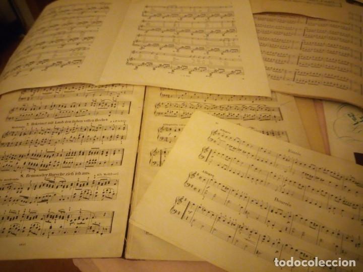 Partituras musicales: lote DE LIBROS DE MÚSICA PARA PIANO. DESDE 1920 - Foto 6 - 176862055