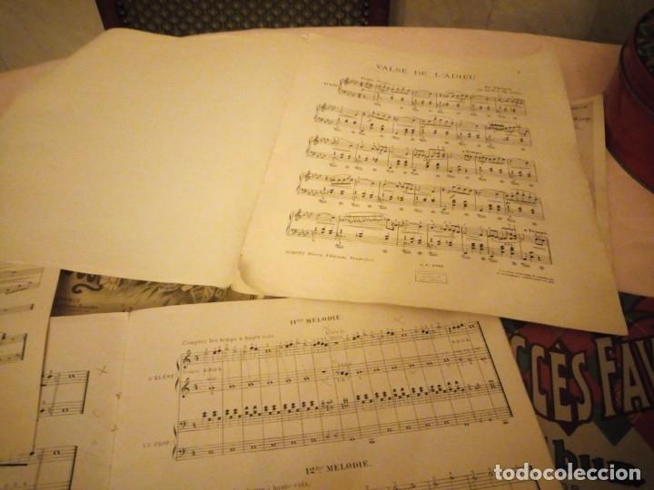 Partituras musicales: lote DE LIBROS DE MÚSICA PARA PIANO. DESDE 1920 - Foto 7 - 176862055