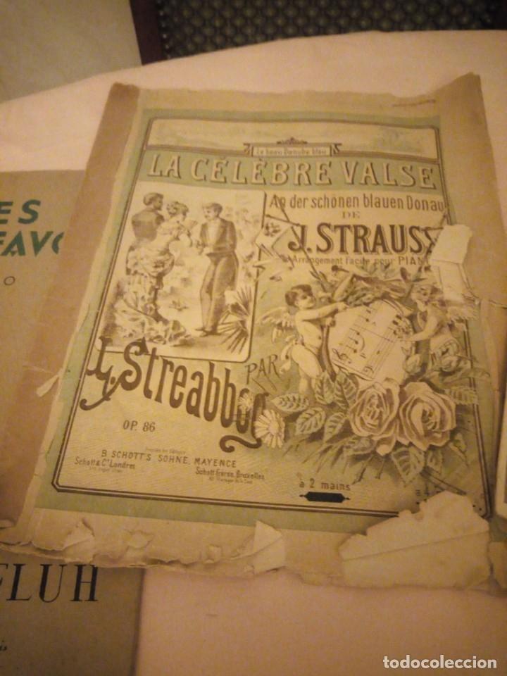 Partituras musicales: lote DE LIBROS DE MÚSICA PARA PIANO. DESDE 1920 - Foto 11 - 176862055