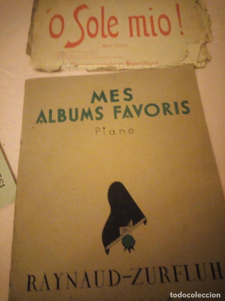 Partituras musicales: lote DE LIBROS DE MÚSICA PARA PIANO. DESDE 1920 - Foto 12 - 176862055