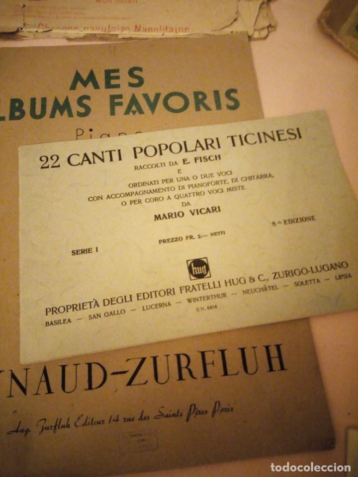 Partituras musicales: lote DE LIBROS DE MÚSICA PARA PIANO. DESDE 1920 - Foto 14 - 176862055