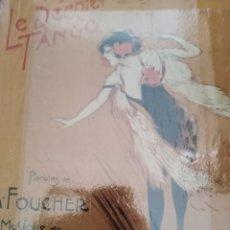 Partituras musicales: DOLOIRE E. SOUS LE SOLEIL ARGENTIN OU LE DERNIER TANGO PIANO 1913. Lote 177293443