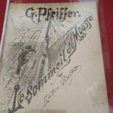 Partituras musicales: HENRY HECHT SOMMEIL DU MOUSSE G. PEFEIFFER RICORDI 1890 CIRCA. Lote 177344770