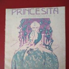 Partituras musicales: PRINCESITA LA DE LOS OJOS AZULES PADJLLA CARRERAS HABANA 1900-20. Lote 177393647