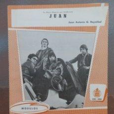 Partituras musicales: PARTITURA DEL GRUPO LOS MODULOS EDICIONES MUSICALES HISPAVOX.. Lote 178335226