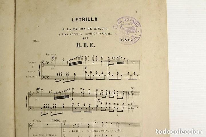 Partituras musicales: obras religiosas de varios autores casa dotesio - Foto 2 - 178636890