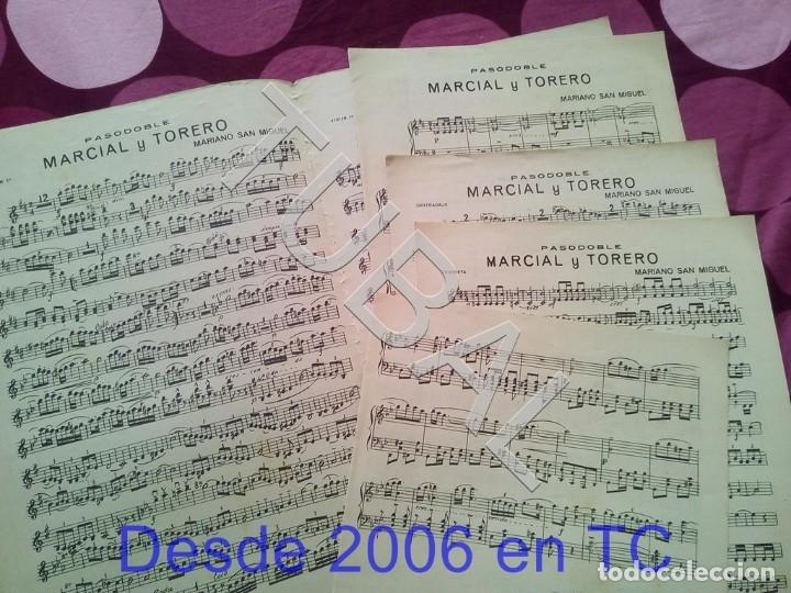 Partituras musicales: TUBAL MARCIAL Y TORERO MARIANO SAN MIGUEL PARTITURA ANTIGUA PAODOBLE 1931 P1 - Foto 4 - 178708193