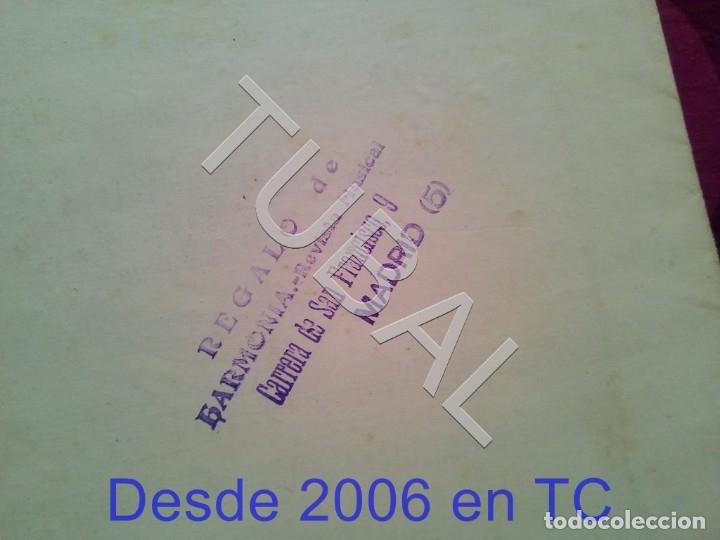 Partituras musicales: TUBAL MARCIAL Y TORERO MARIANO SAN MIGUEL PARTITURA ANTIGUA PAODOBLE 1931 P1 - Foto 5 - 178708193