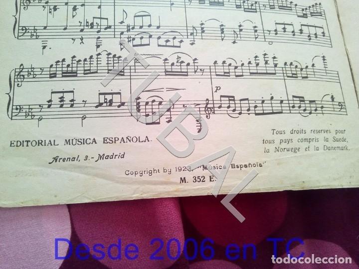 Partituras musicales: TUBAL NUEVO MUNDO MAESTRO MILLAN PARTITURA ANTIGUA 1929 P1 - Foto 2 - 178709402