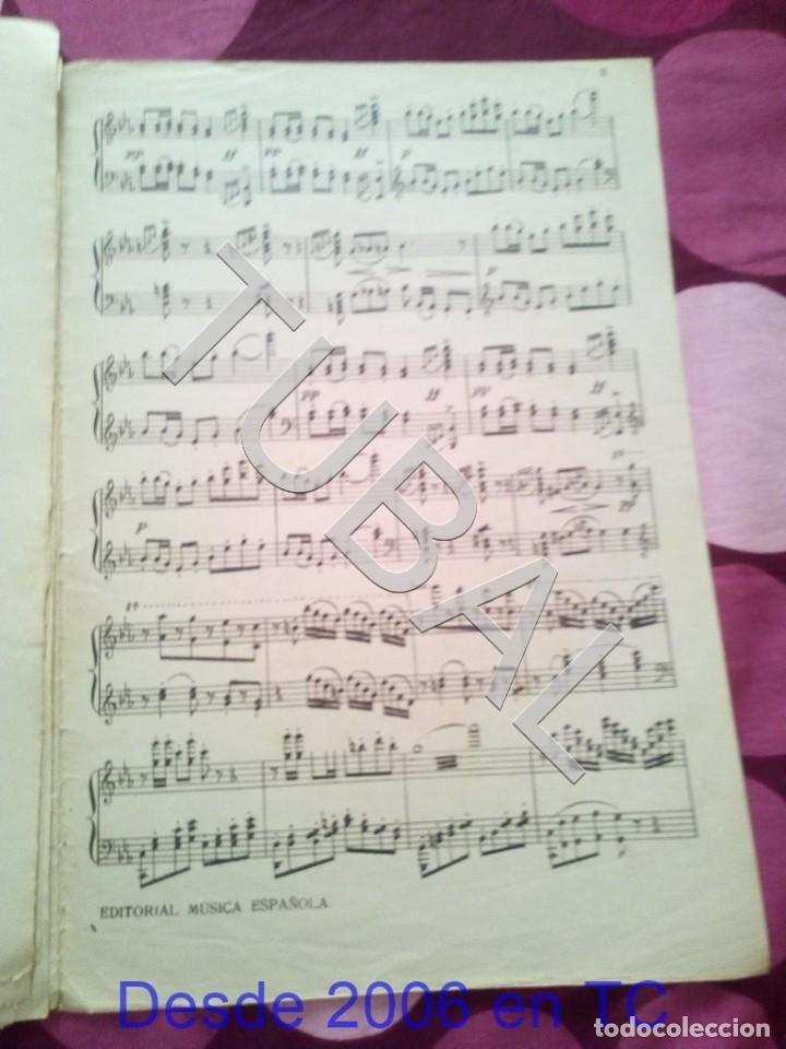 Partituras musicales: TUBAL NUEVO MUNDO MAESTRO MILLAN PARTITURA ANTIGUA 1929 P1 - Foto 9 - 178709402