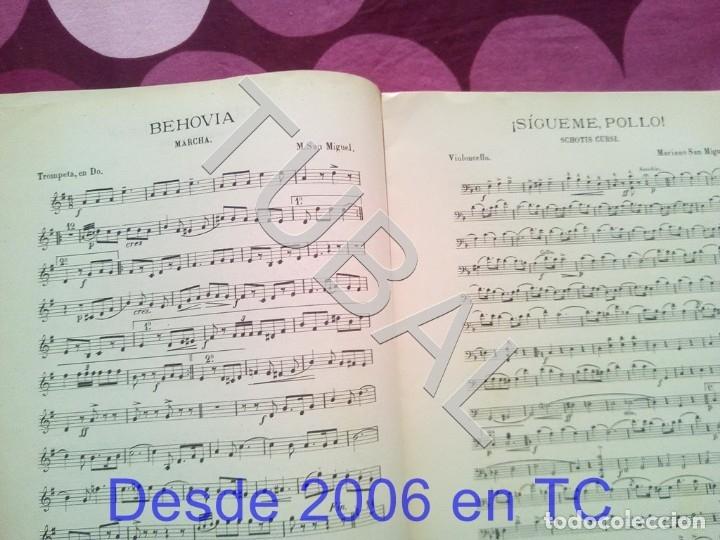 Partituras musicales: TUBAL SIGUEME POLLO MARIANO SAN MIGUEL PARTITURA ANTIGUA SCHOTIS CURSI CHOTIS P1 - Foto 4 - 178709602