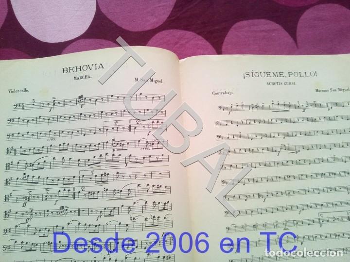 Partituras musicales: TUBAL SIGUEME POLLO MARIANO SAN MIGUEL PARTITURA ANTIGUA SCHOTIS CURSI CHOTIS P1 - Foto 5 - 178709602