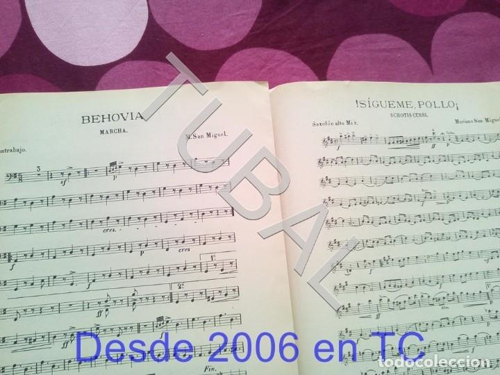 Partituras musicales: TUBAL SIGUEME POLLO MARIANO SAN MIGUEL PARTITURA ANTIGUA SCHOTIS CURSI CHOTIS P1 - Foto 6 - 178709602