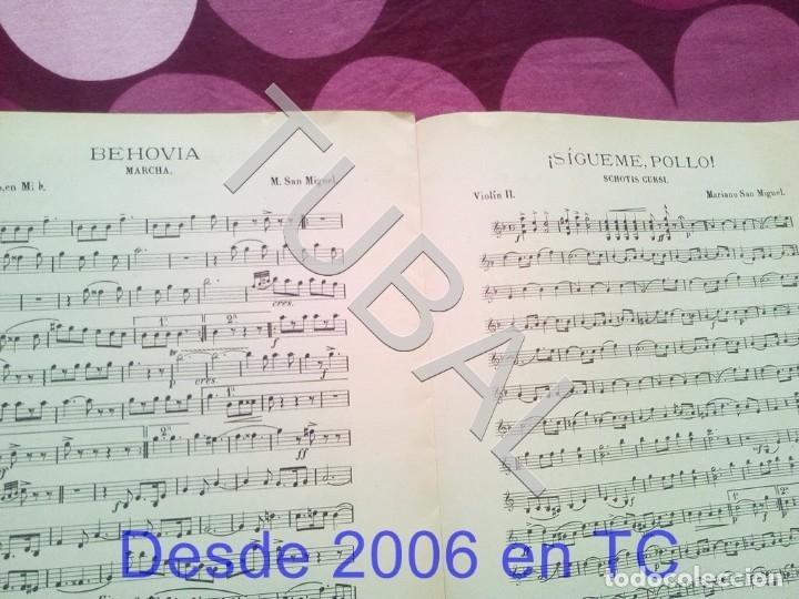 Partituras musicales: TUBAL SIGUEME POLLO MARIANO SAN MIGUEL PARTITURA ANTIGUA SCHOTIS CURSI CHOTIS P1 - Foto 7 - 178709602