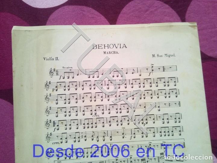 Partituras musicales: TUBAL SIGUEME POLLO MARIANO SAN MIGUEL PARTITURA ANTIGUA SCHOTIS CURSI CHOTIS P1 - Foto 8 - 178709602