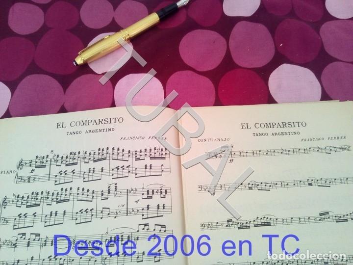 Partituras musicales: TUBAL EL COMPARSITO TANGO FRANCISCO FERRER PARTITURA ANTIGUA P1 - Foto 2 - 178711087