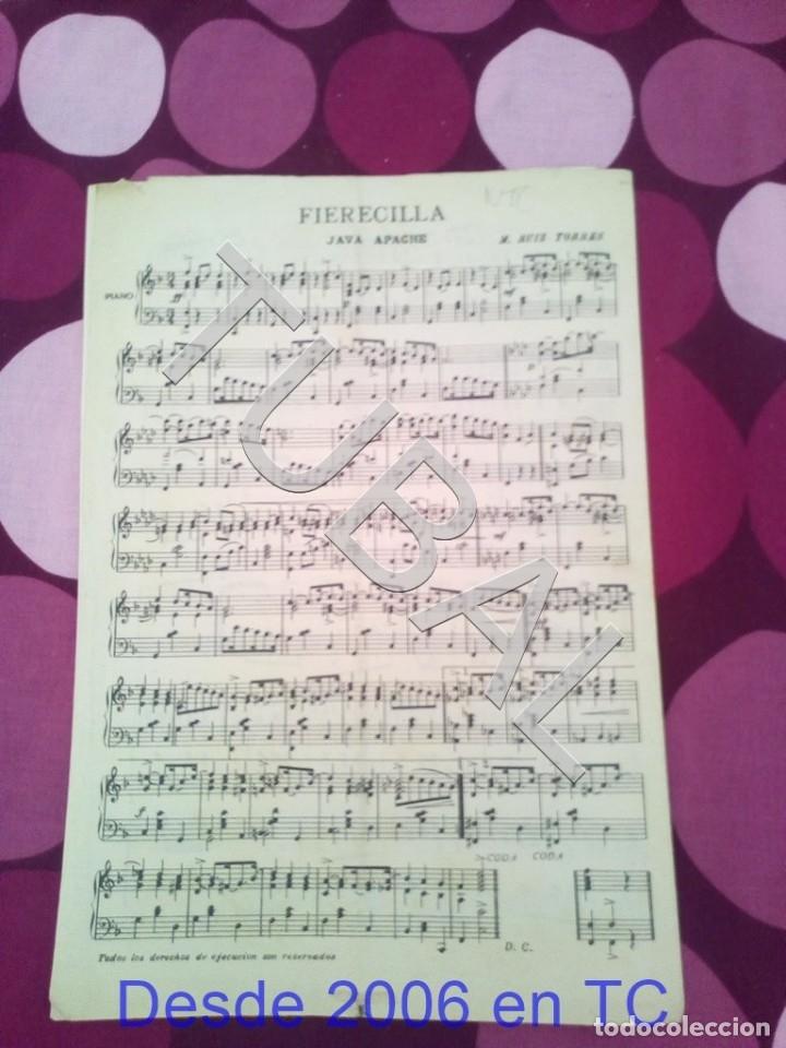 Partituras musicales: TUBAL EL COMPARSITO TANGO FRANCISCO FERRER PARTITURA ANTIGUA P1 - Foto 6 - 178711087
