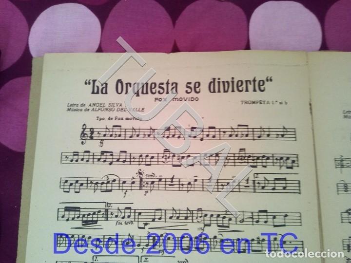 Partituras musicales: TUBAL RETORNO FOX ALFONSO DEL VALLE 1942 PARTITURA ANTIGUA P1 - Foto 3 - 178711411