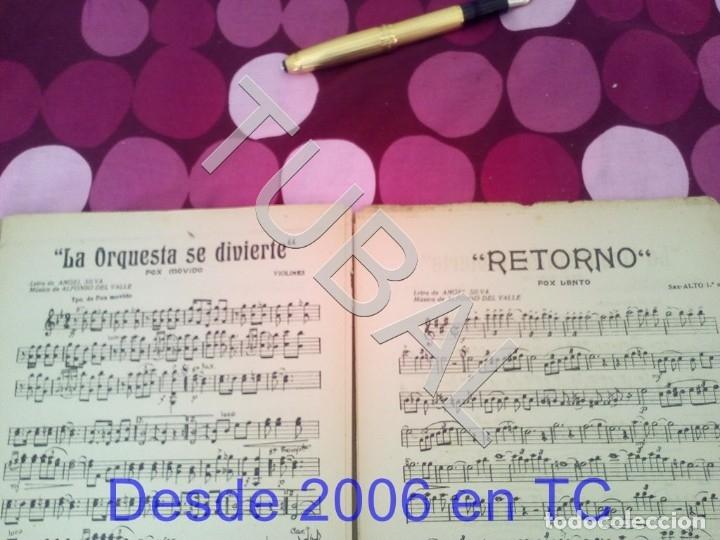 Partituras musicales: TUBAL RETORNO FOX ALFONSO DEL VALLE 1942 PARTITURA ANTIGUA P1 - Foto 5 - 178711411