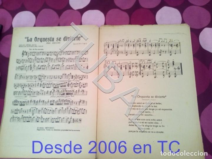 Partituras musicales: TUBAL RETORNO FOX ALFONSO DEL VALLE 1942 PARTITURA ANTIGUA P1 - Foto 6 - 178711411