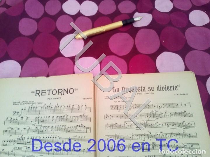 Partituras musicales: TUBAL RETORNO FOX ALFONSO DEL VALLE 1942 PARTITURA ANTIGUA P1 - Foto 9 - 178711411