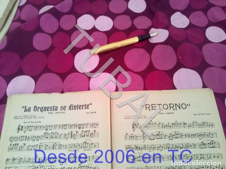 Partituras musicales: TUBAL RETORNO FOX ALFONSO DEL VALLE 1942 PARTITURA ANTIGUA P1 - Foto 11 - 178711411