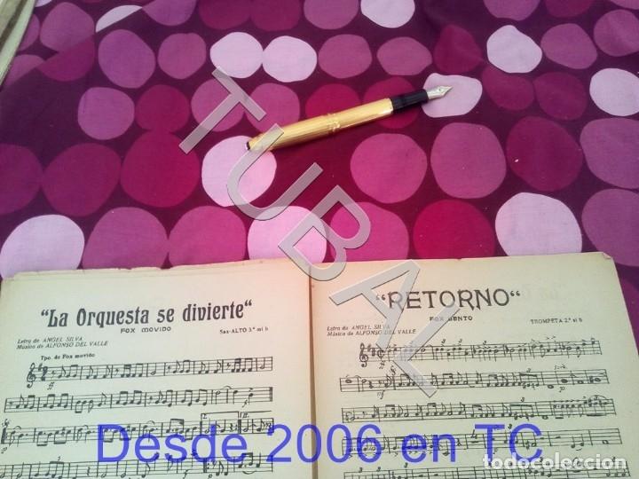 Partituras musicales: TUBAL RETORNO FOX ALFONSO DEL VALLE 1942 PARTITURA ANTIGUA P1 - Foto 12 - 178711411