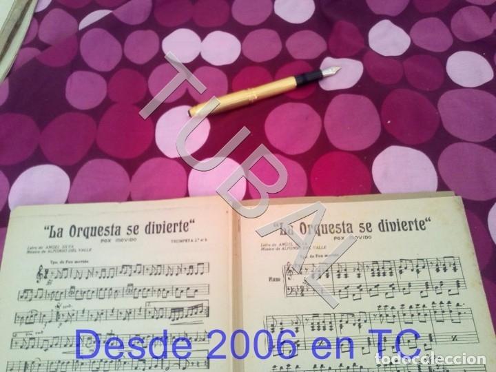 Partituras musicales: TUBAL RETORNO FOX ALFONSO DEL VALLE 1942 PARTITURA ANTIGUA P1 - Foto 13 - 178711411