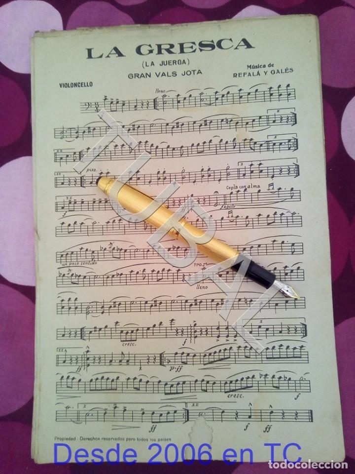 TUBAL LA GRESCA VALS REFALA Y GALES PARTITURA ANTIGUA P1 (Música - Partituras Musicales Antiguas)