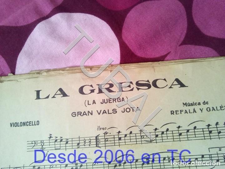 Partituras musicales: TUBAL LA GRESCA VALS REFALA Y GALES PARTITURA ANTIGUA P1 - Foto 2 - 178711843